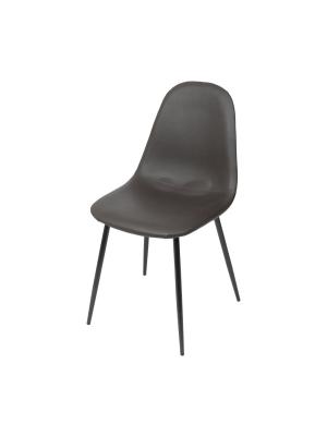 Cadeira Charla Base Metal Preta Or Design 1111 Bp