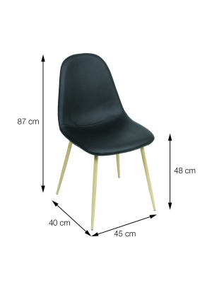 Cadeira Charla Base Madeira Or Design 1111 Bm