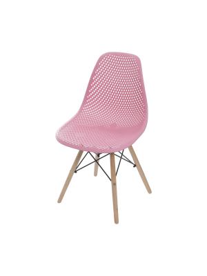Cadeira Colmeia Base Madeira Jantar Or Design 1119