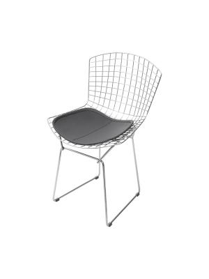 Cadeira Bertóia Jantar Sala Cromada Or Design 1124