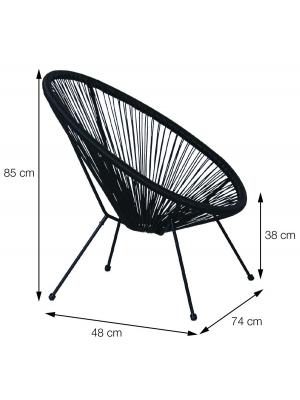 Cadeira Acapulco Cordas Jardim Or Design 1160