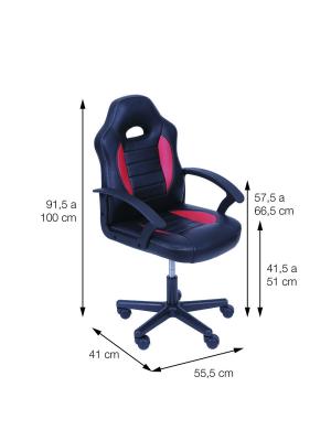 Cadeira Mig Gamer Escritório Or Design 3319