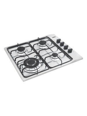 Cooktop New Square 4gx Tri 60 Tramontina Inox 4 Queimadores