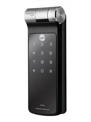 Fechadura Digital Biometria Ydf 40 Bp Porta De Correr Yale