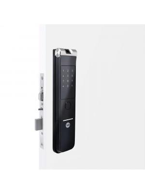 Fechadura Digital Ymf 40a Rl Abre Com Biometria E Senha Yale