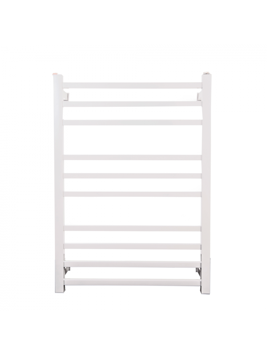 Toalheiro Térmico Grande Quadrado Inox Branco 304 Kazalinda