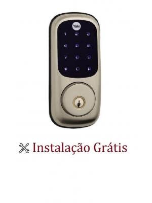 Fechadura Digital C/ Senha Yale Yrd 226 Rl  Instalação Grátis