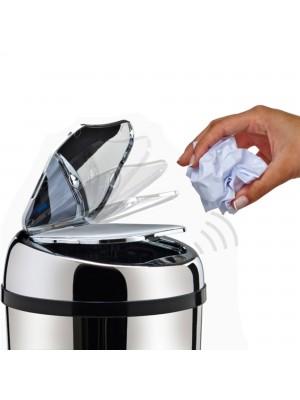 Lixeira Automática Inox 6 Litros Premium Sensor Banheiro Kzi