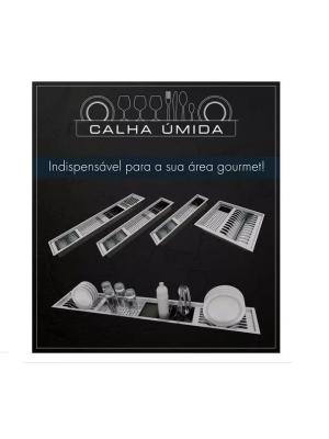 Porta Talheres Com Divisória Calha Úmida 150x51x162 8516