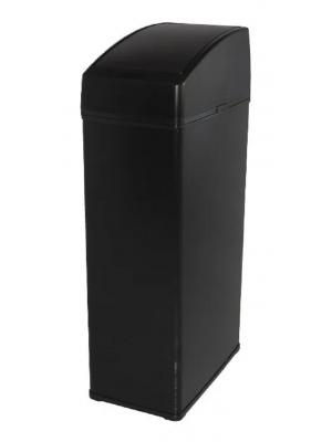 Lixeira Automática Sensor Inox Preta 6 Litros Quadrada