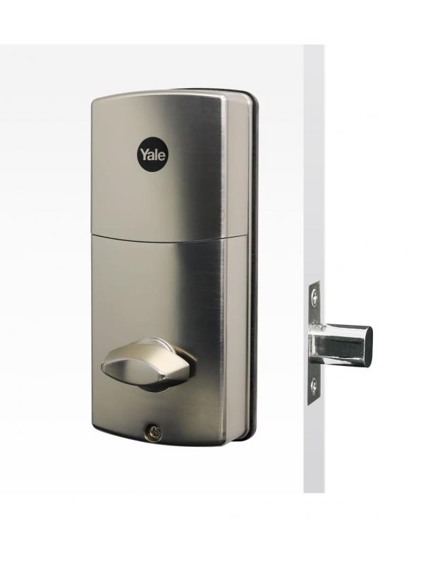 Fechadura Digital Ydd 120 Para Portas Externas Com Senha E Chave - A Prova D'água