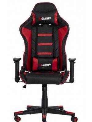 Cadeira Gamer Jogador Ergonômica Vermelho E Preto Premium