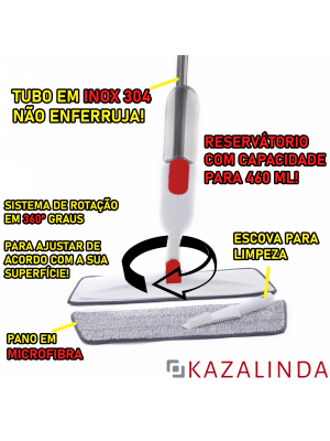 Vassoura Mágica Mop Spray Esfregao Rodo Fácil Promoção! Kzi