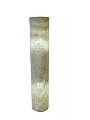 Luminária Coluna Chão Kazalinda Artesanal - (120 Cm X 24 Cm)