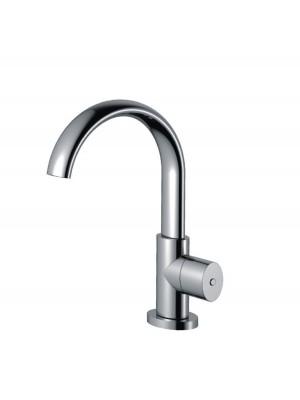 Torneira Água Fria Bancada Para Lavatório Banheiro Latão F60957-64A