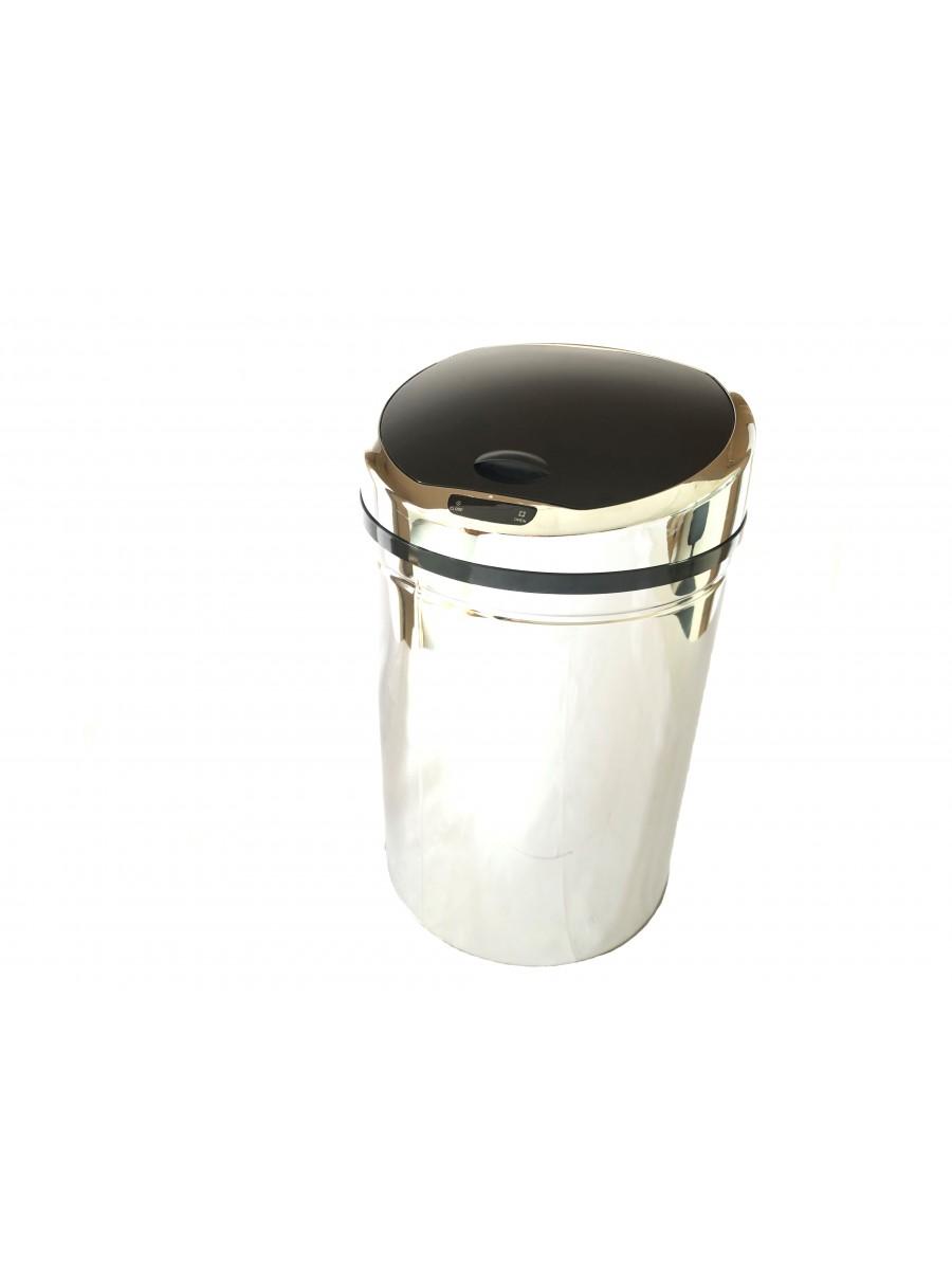 Lixeira Inox Automática Sensor 30 Litros Banheiro