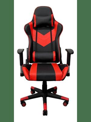 Cadeira Gamer Jogador Ergonômica Vermelho E Preto - Kzi