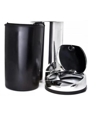 Lixeira Automática Inox 30 Lts Premium Sensor Banheiro Kzi