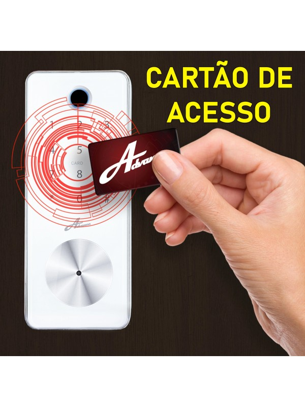 Fechadura Digital Embutir Biometria Senha D Tech 8600 Milre