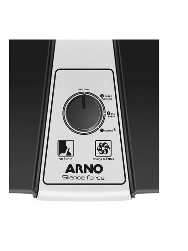 Ventilador De Mesa Arno Silence Force 3 Velocidades - 40 Cm