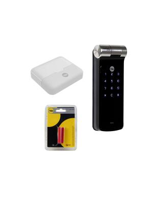 Kit Fechadura Digital Ydf 40 Rl Com App, Biometria, Senha Yale