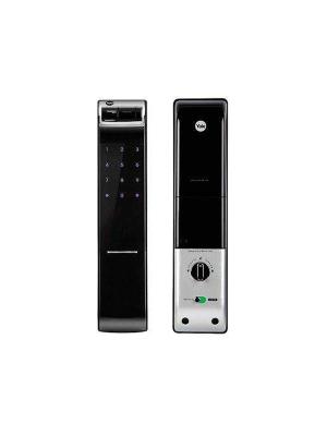 Fechadura Digital Biométrica Yale Ydm 4109 Rl Sem Maçaneta