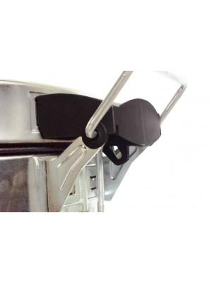 Lixeira Inox Com Pedal E Balde Elegance Purimax - 30 Litros