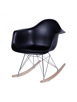 Cadeira De Balanço Madeira Com Braço Or Design 1122