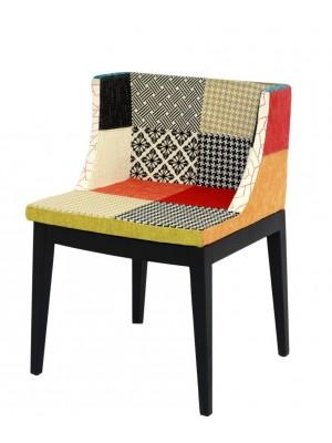Cadeira Estampada Xadrez Ou Mix Patch Work Or Design 1135
