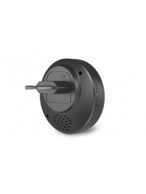 Campainha Wireless Sem Fio Preta Bivolt Comfort Door 100mts