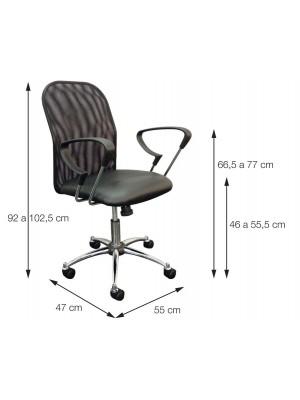Cadeira Office Escritório Rodízio Albert Or Design 3306
