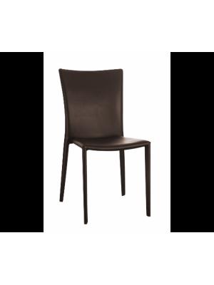 Cadeira Milão Espuma Revestida De Couro Or Design 4401
