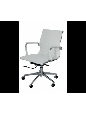 Cadeira Office Escritório Sevilha Couro Or Design 3301 Baixa