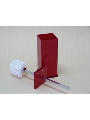 Escopino - Escova Sanitária em Acrílico Com Strass Cereja