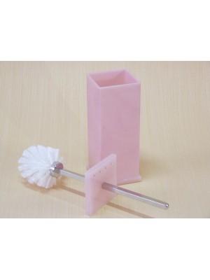Escopino - Escova Sanitária em Acrílico Com Strass Rosa