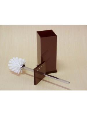 Escopino - Escova Sanitária em Acrílico Com Strass Chocolate