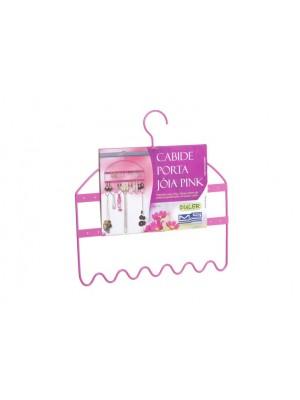 Cabide Organizador Pendurador Para Bijuterias Pink Duler 188