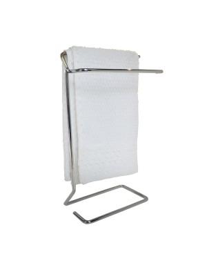 Porta Toalha Toalheiro Pia Bancada Lavado Cromado Duler 308