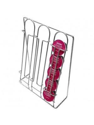 Porta Cápsulas Una Lato Dolce Gusto Cromada Jomer 2102