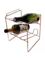 Mini Garrafeiro Cobre Para 4 Garrafas Vinho Jomer 2721