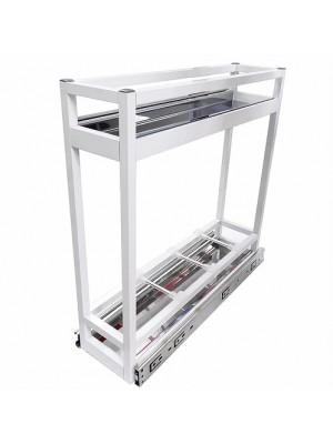 Porta Latas Óleo De Base Alumínio Branco Jomer 9352