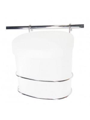 Lixeira 4 Litros Plástica Com Suporte Inox Jomer 3022