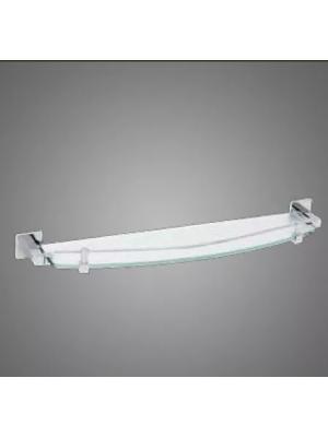Suporte Porta Shampoo Quadrado Metal Cromado Linha Retro