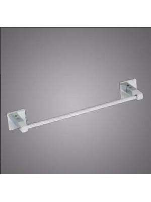 Porta Toalhas Banho Parede 45cm Metal Cromado Linha Retro