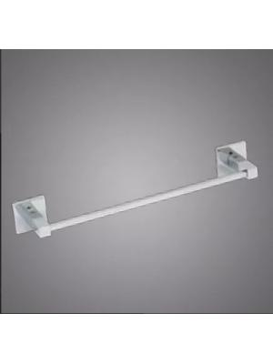 Porta Toalhas Banho Parede 30cm Metal Cromado Linha Retro