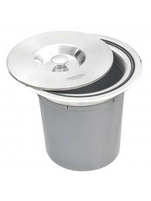 Lixeira De Embutir Clean Tramontina 5 Litros Inox Polido