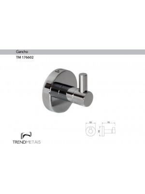 Cabide Redondo Latão Banheiro Trendmetais Tm 176602
